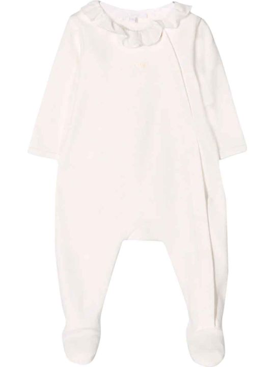 Chloé White Baby Suit