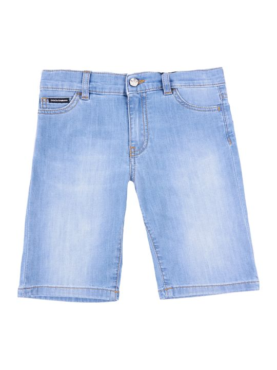 Dolce & Gabbana Summer Smile Denim Shorts