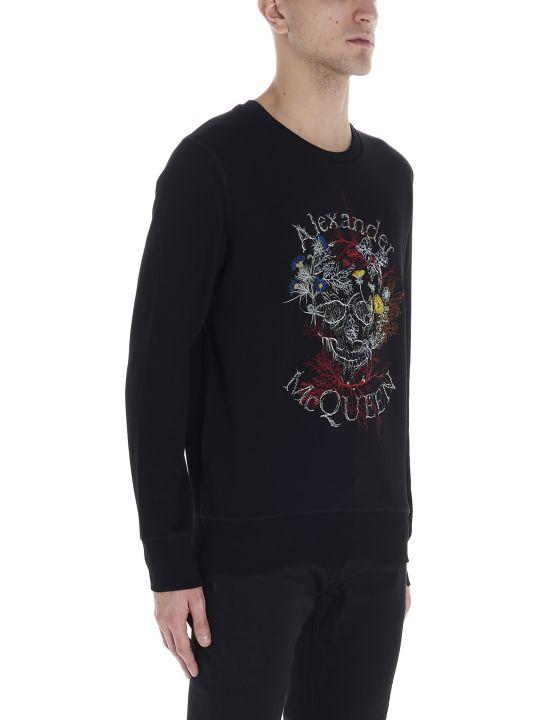 Alexander McQueen 'botanical Skull' Sweatshirt