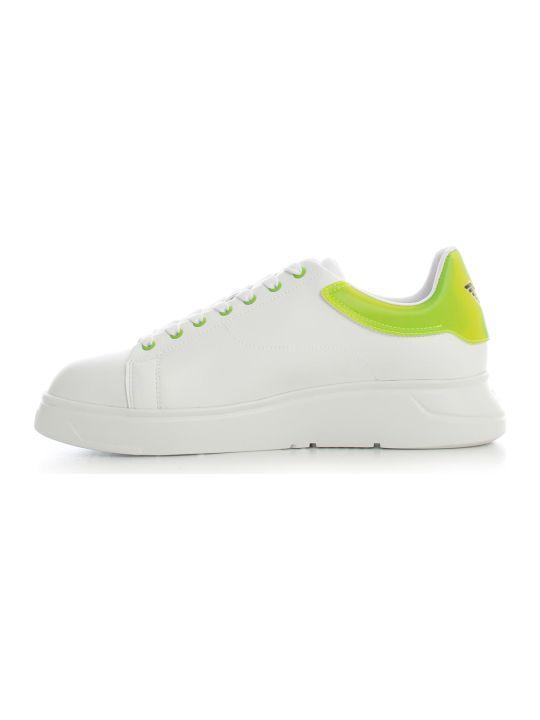 Emporio Armani Sneakers Microfiber Pucalf