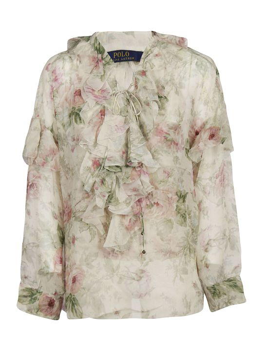Ralph Lauren Polo Ralph Lauren Ruffled Detail Blouse