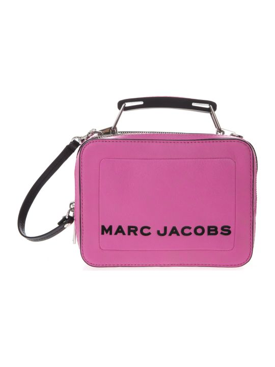 Marc Jacobs Pink Box Bag In Leather