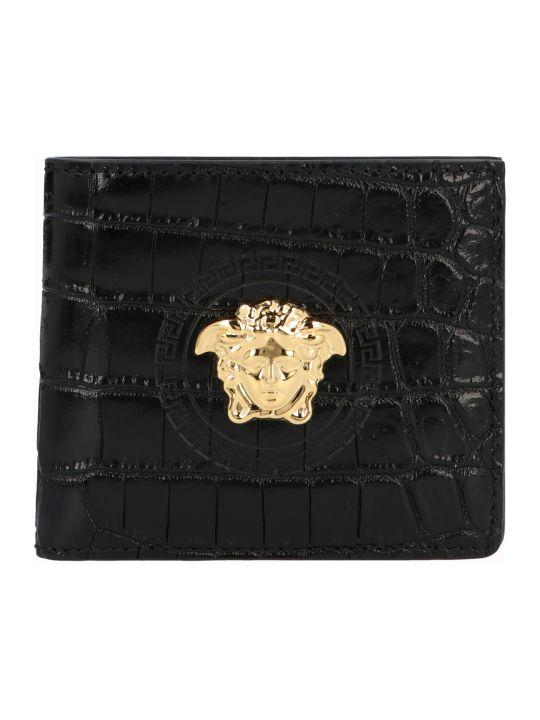 Versace 'medusa' Wallet