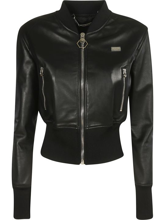 Philipp Plein Zipped Bomber