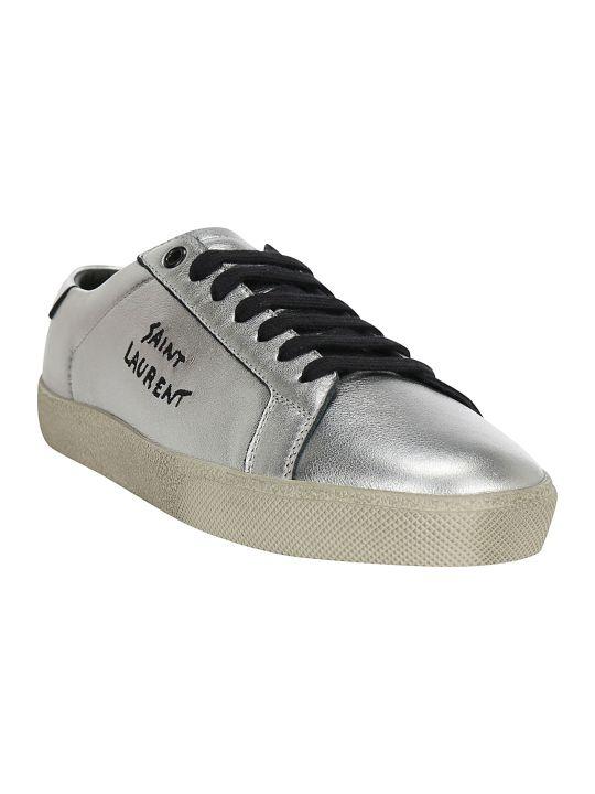 Saint Laurent Embroid Sneakers