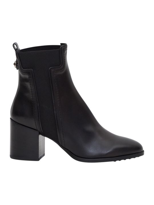 Tod's Booties With T Shaped Elastic