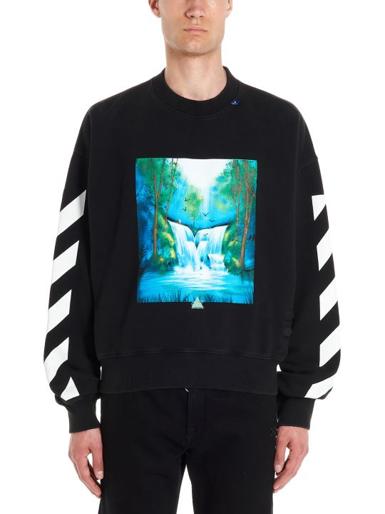 Off-White 'waterfall' Sweatshirt