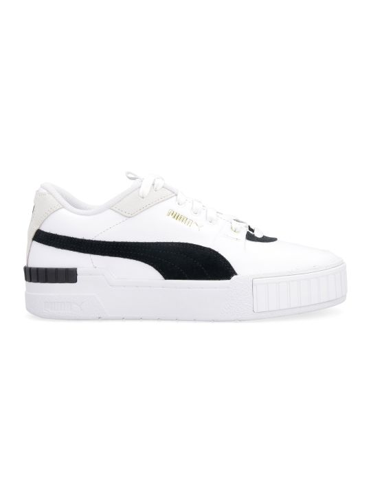 Puma Cali Sport Leather Sneakers