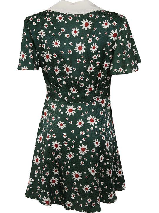 Miu Miu Floral Print Short Dress