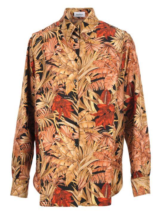Salvatore Ferragamo Shirt Printed