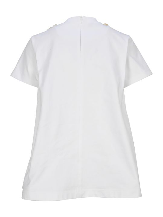 Prada Shell Embellished T-shirt