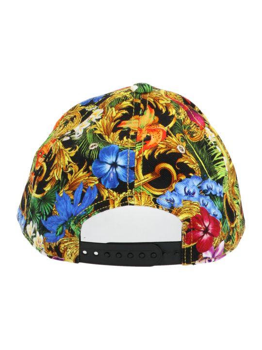 Versace Jeans Couture 'tropical Baroque' Cap
