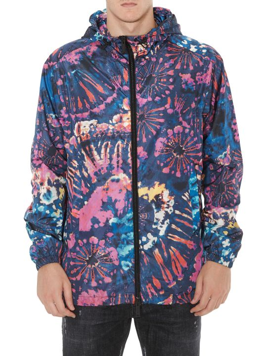 Dsquared2 Tie And Dye Raincoat
