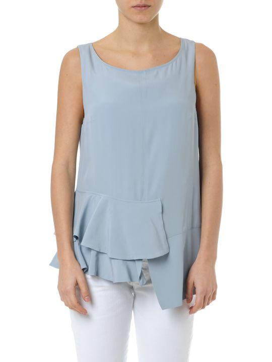 Dondup Flounces Sleeves Shirt