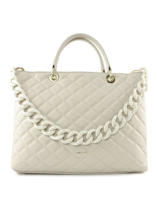 Avenue 67 Violante Bag In White Leather