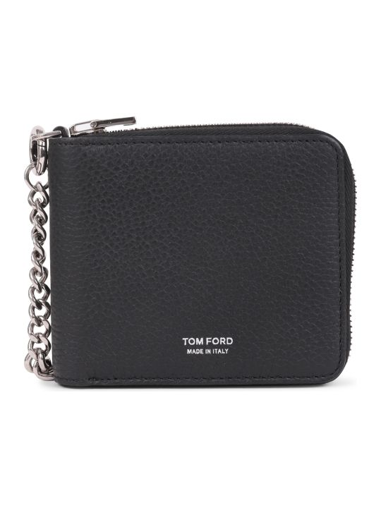 Tom Ford Black Chain Wallet