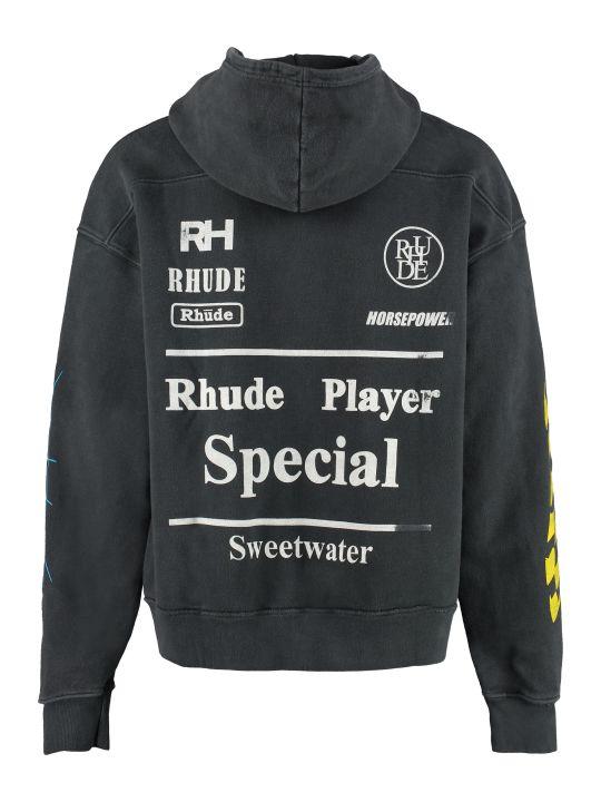 Rhude Cotton Hoodie