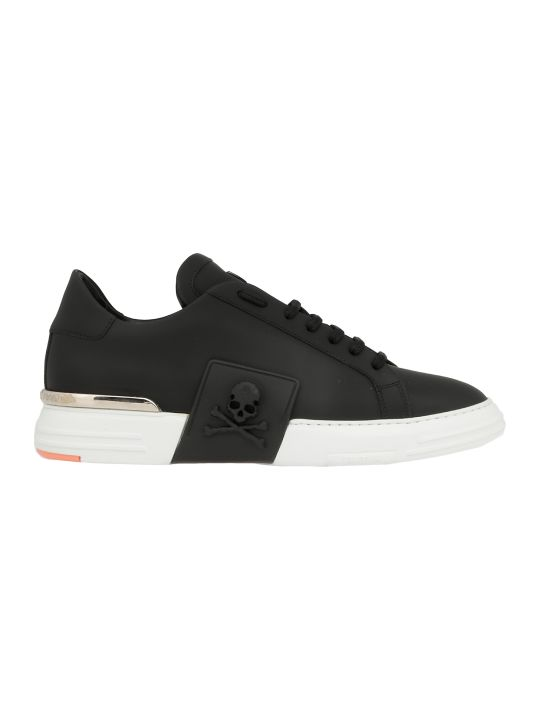 Philipp Plein Leather Sneaker