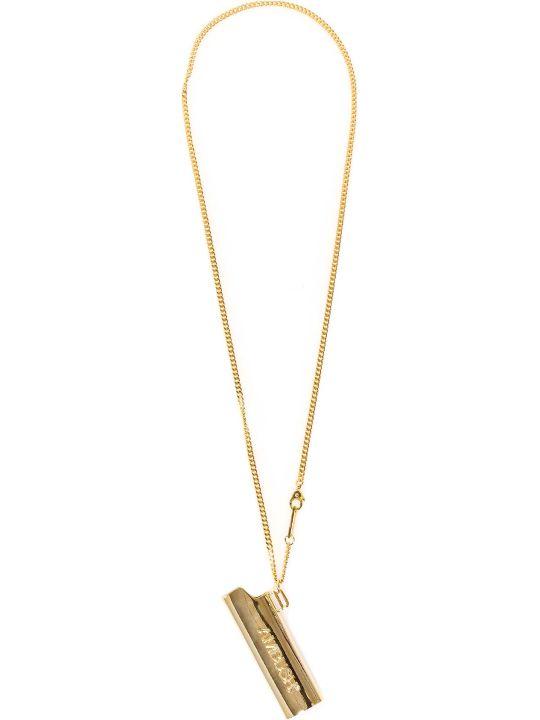 AMBUSH Logo Lighter Case Necklace