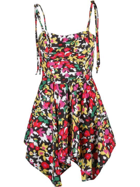 ATTICO The Attico Floral Flared Dress