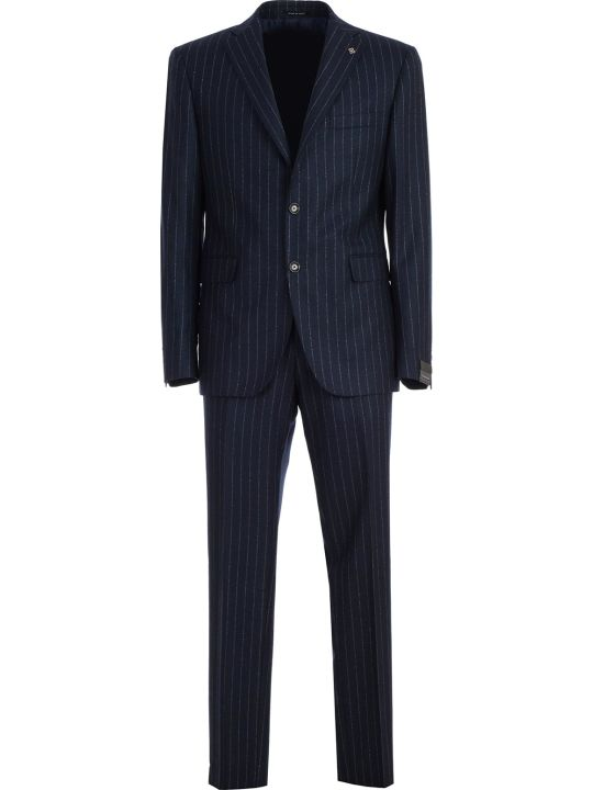 Tagliatore Suit Pinstripe