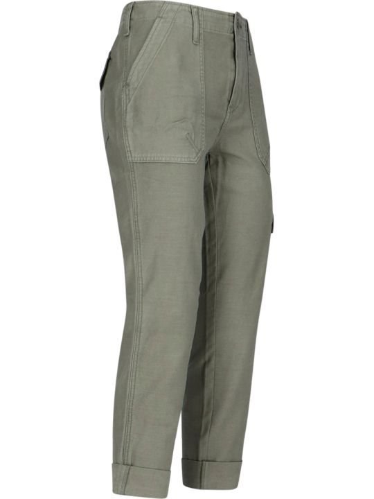 Frame Cargo Crop Trousers
