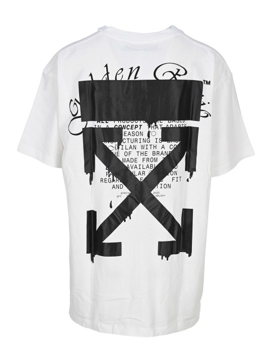 Off-White Off White Dripping Arrows T-shirt