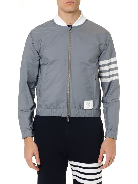 Thom Browne Grey Patch Jacket