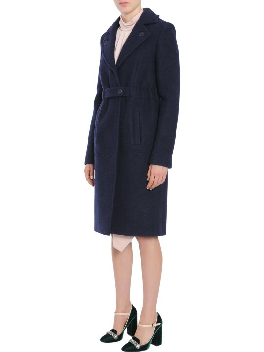Carven Boiled Wool Coat