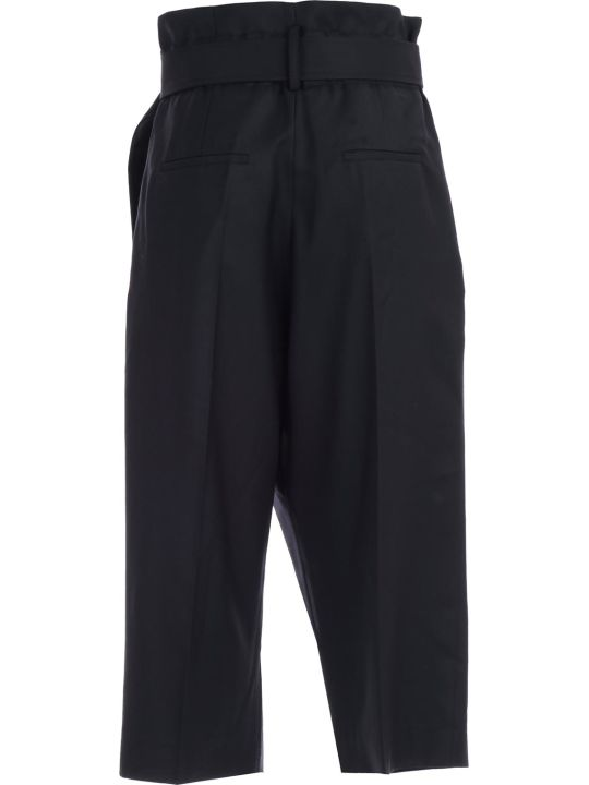 Eudon Choi Pants High Waist W/belt