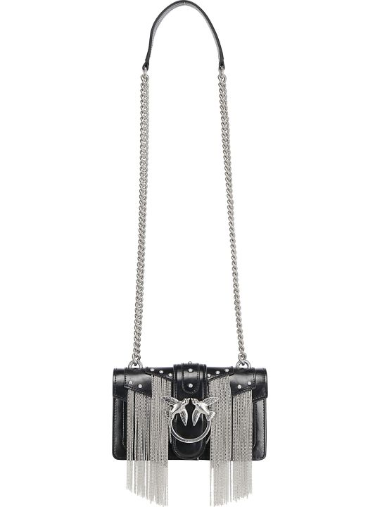 Pinko Love Mini Metal Shoulder Bag