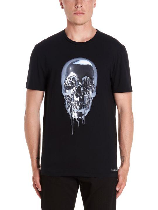 Alexander McQueen 'metallic Skull' T-shirt