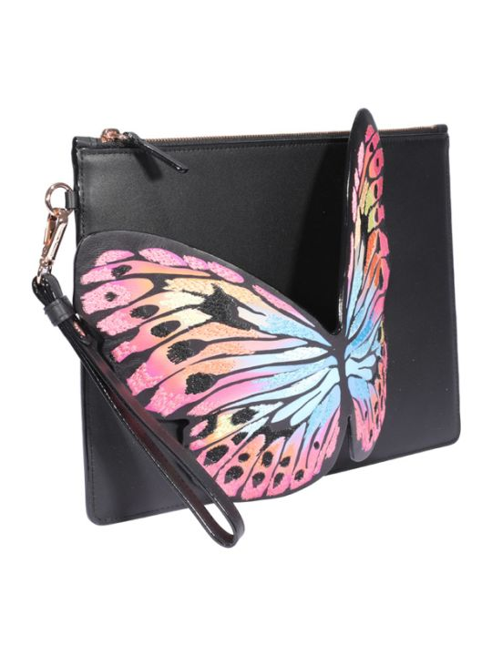 Sophia Webster Flossy Butterfly Pouch