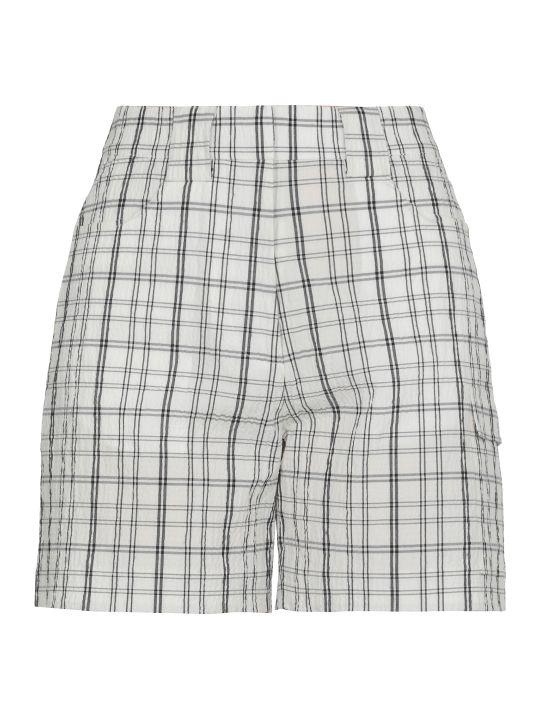AALTO Check Patterned Short