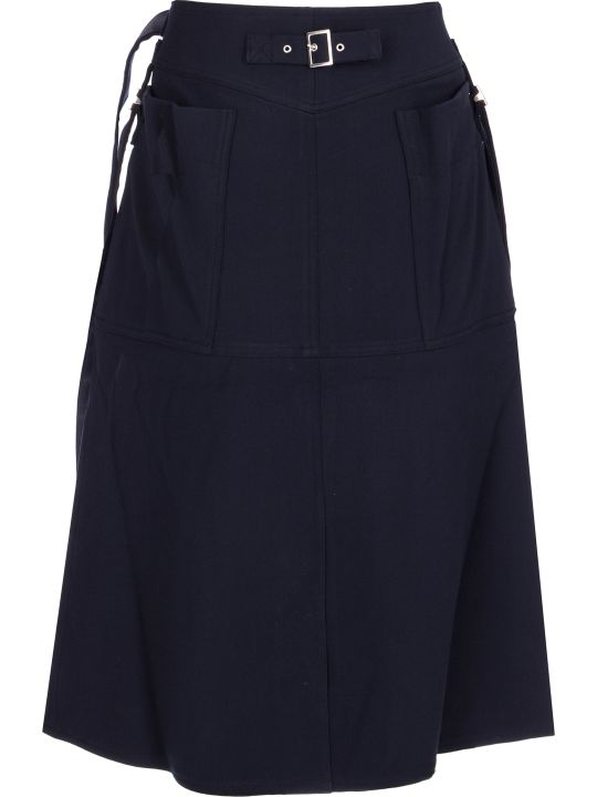 AMBUSH High Waisted Midi Skirt