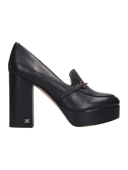 Sam Edelman Aretha Pumps In Black Leather