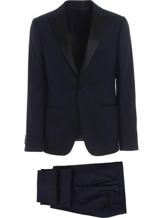 Z Zegna Contrast Lapel Suit