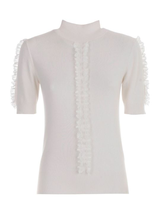 See by Chloé Sweater S/s High Neck W/insert