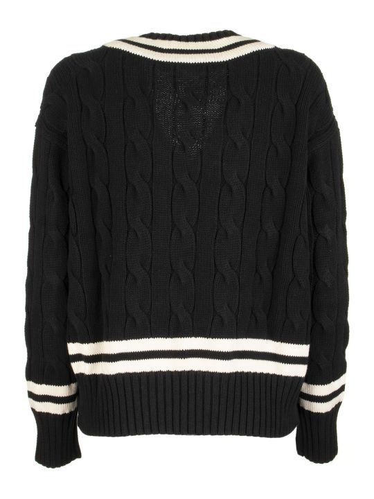 Ralph Lauren V-neck Cricket Jumper