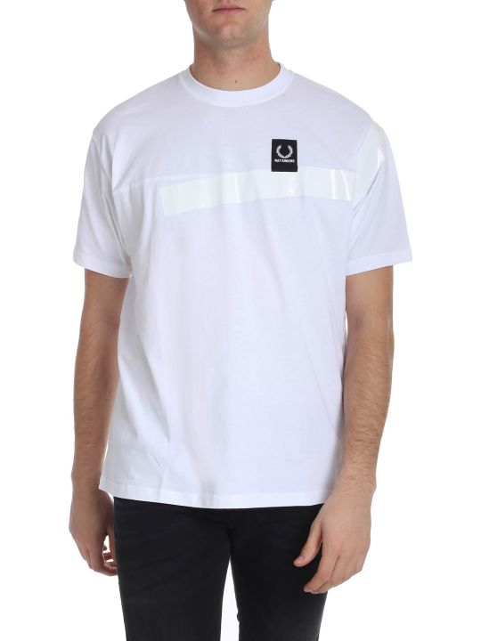 Fred Perry by Raf Simons Printed Logo T-shirt