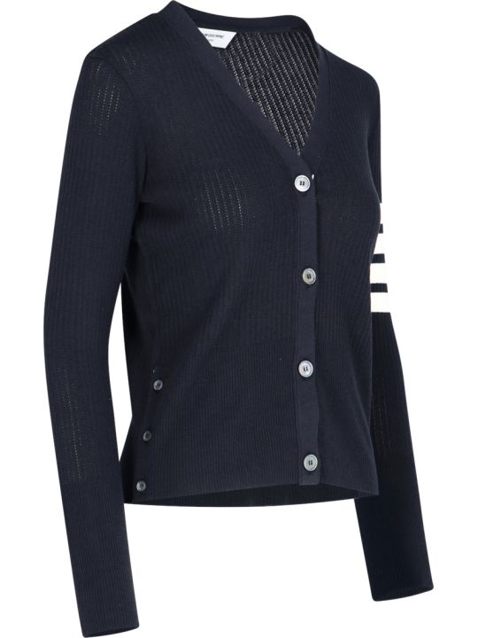 Thom Browne 4 Bar Cardigan