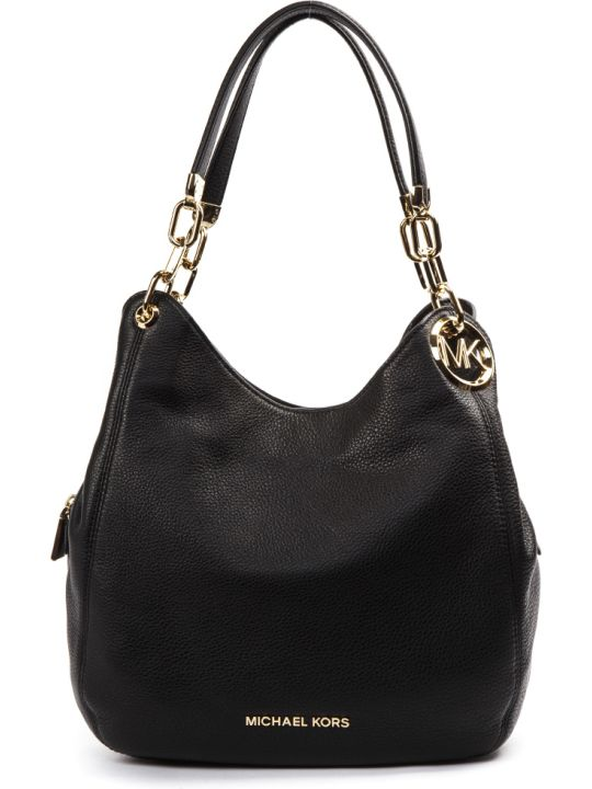 MICHAEL Michael Kors Black Lillie Leather Bag