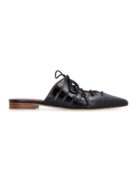 Malone Souliers Annie Leather Slippers