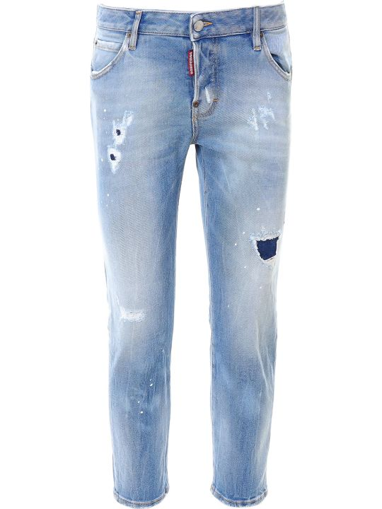 Dsquared2 Cool Girl Cropped Jean Jeans
