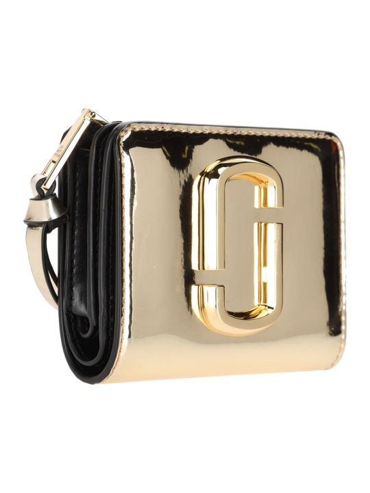 Marc Jacobs The Snapshot Mirrored Mini Compact Wallet