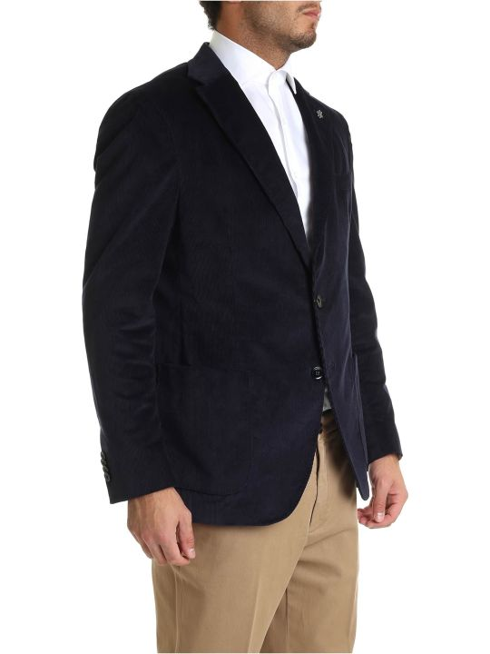 Luigi Bianchi Mantova Single Buttoned Blazer