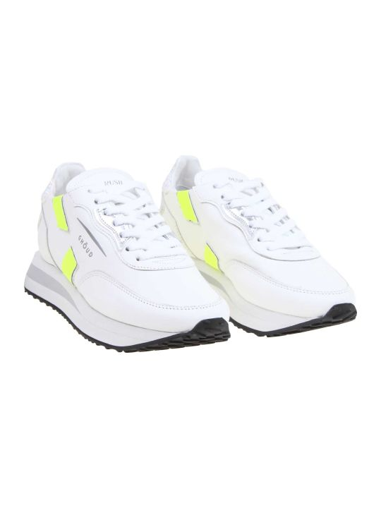GHOUD Rush Sneakers In White Leather
