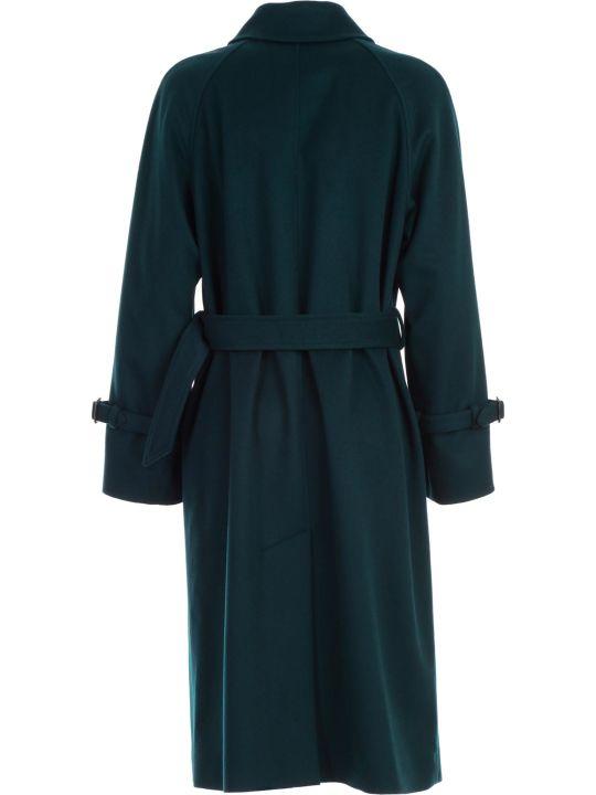 Paul Smith Coat S/raglan Single Breasted W/belt