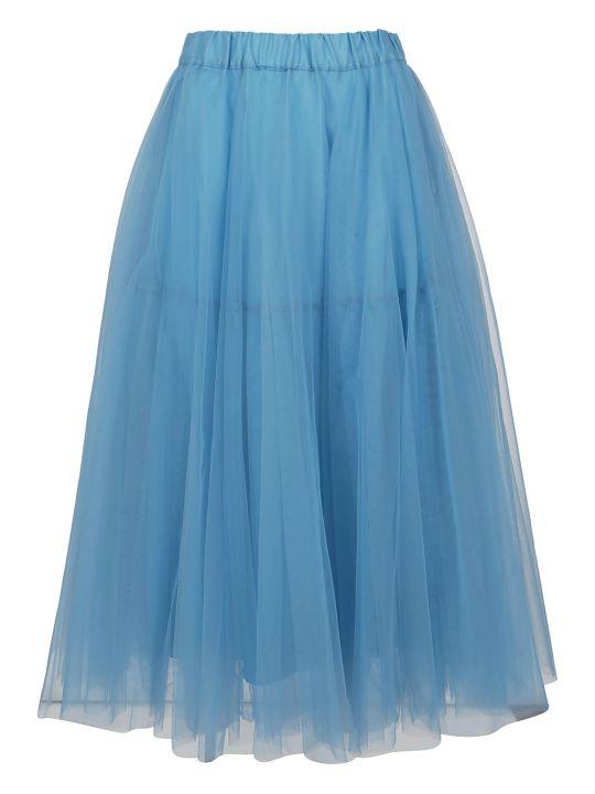 Parosh High-waist Tulle Skirt