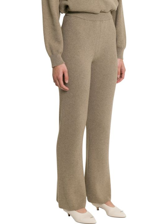 Nanushka Leba High-waisted Ribbed Pants